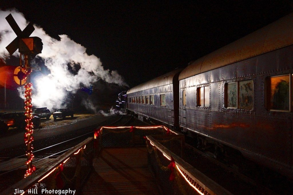 Polar Express platform copyright Jim Hill 2017