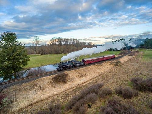 Home | Chehalis Centralia Railroad | Steam Train Rides